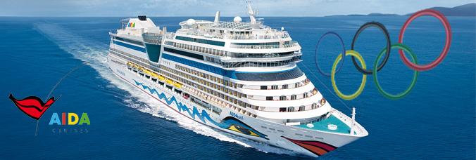 aida cruises untersttzt hamburgs bewerbung fr die olympischen spiele 2024 - Aida Bewerbung
