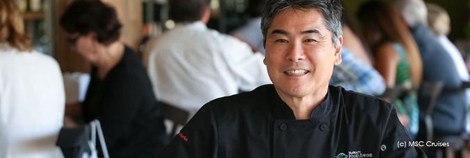 Msc cruises international gefeierte k chenchef aus for Koch yamaguchi