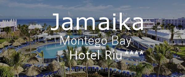"""Das Viersterne-Resort """"Hotel RIU Montegobay"""" - das ideale Zentrum auf Jamaica"""